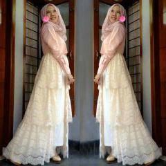 Cara Memilih Gaun Pesta Muslimah Modern Model Gamis