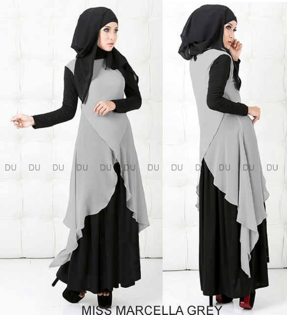 Model Gamis Pesta Modern Baju Muslim Gamis Terbaru Murah